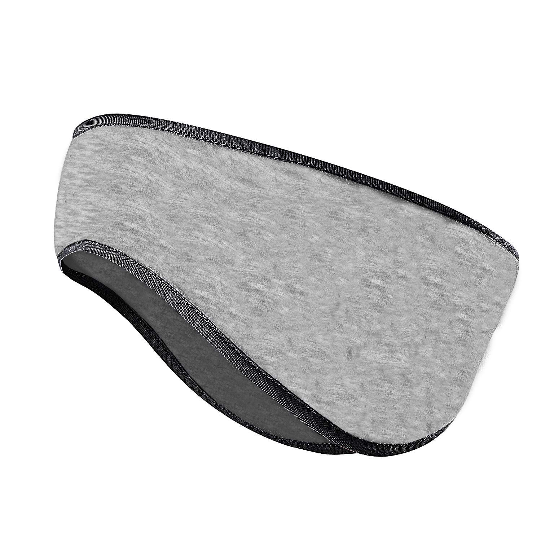 Fleece Ear Warmers Headband//Ear Muffs Men Women Winter Ear Bands Workout Sports