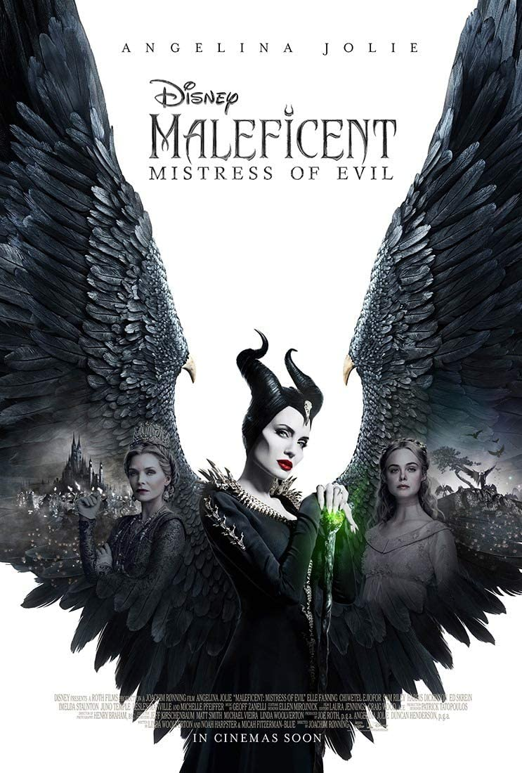 Maleficent Mistress of Evil Large Poster or Canvas Art Print Maxi A1 A2 A3 A4