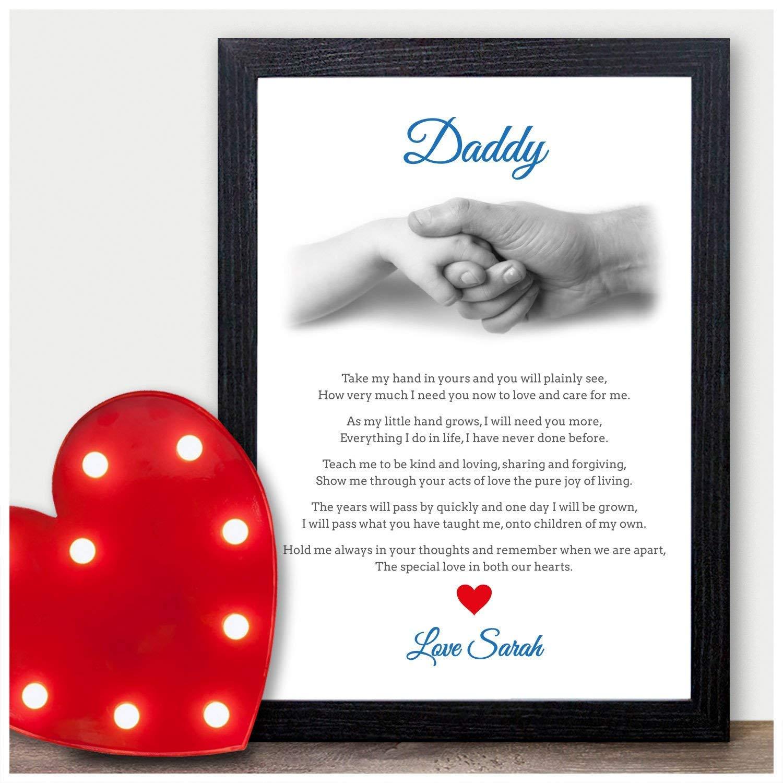 Personalised Dad Birthday Poem Gift