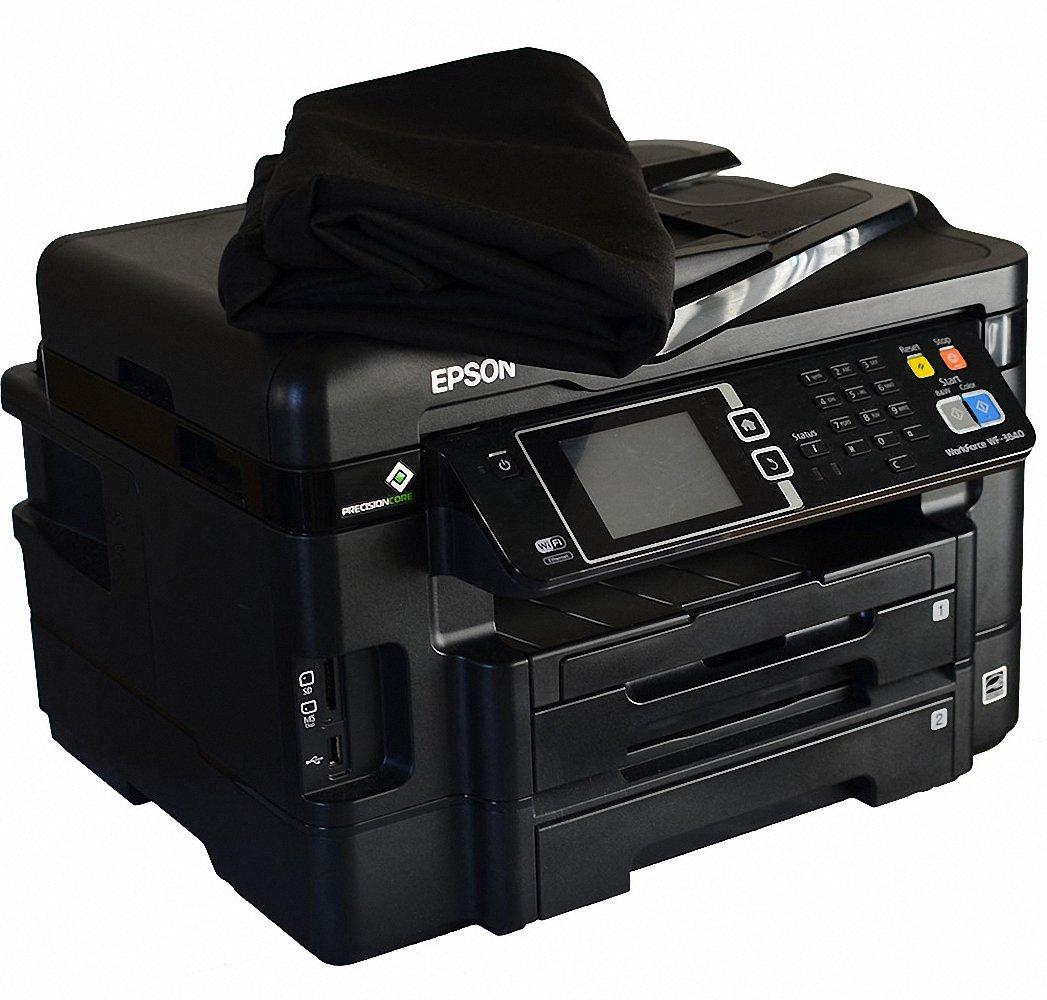 Canon PIXMA MG5722 Printer Dust Cover - Base Model - Premium Fabric - Black