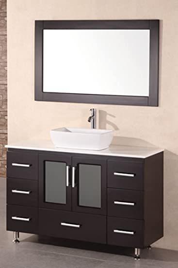vessel sink bathroom vanities sale design element single vanity set espresso inch combo home depot