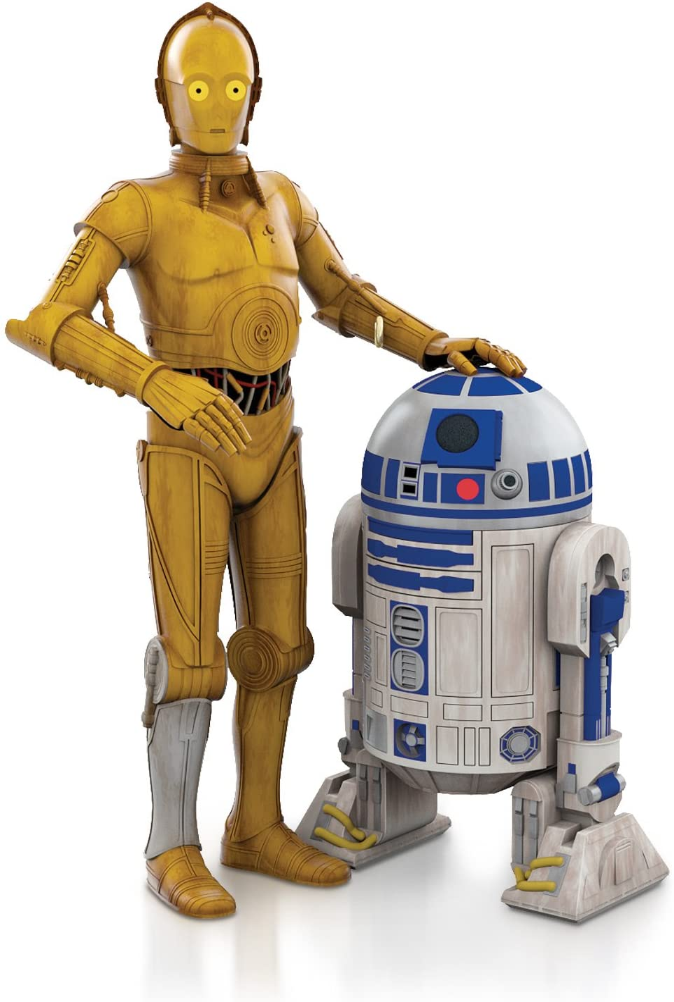 Star Wars Celebration Chicago 2019  Hallmark Ornament  McQuarrie R2-D2 /& C-3PO