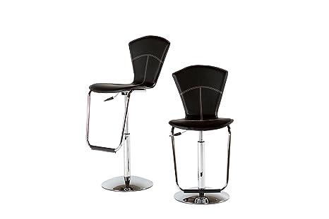 Groovy Amazon Com At Home Usa Sabito Adjustable High Back Bar Forskolin Free Trial Chair Design Images Forskolin Free Trialorg