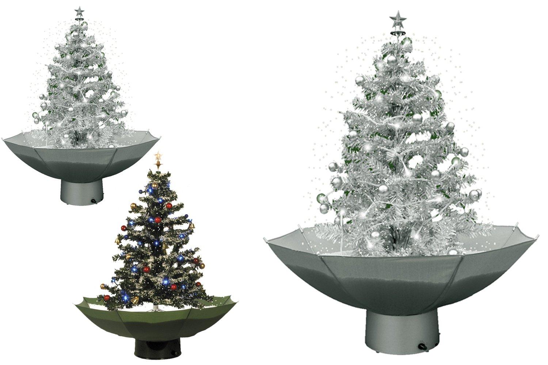 Jemidi weihnachtsbaum mit schneefall   75cm schneiender tannenbaum ...