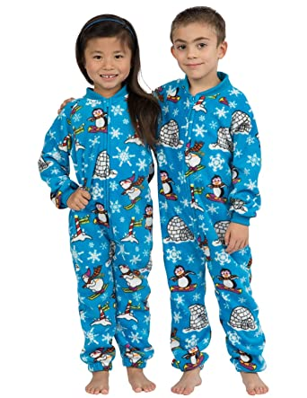 7ab5afef97cd Amazon.com  Footed Pajamas - Winter Wonderland Toddler Footless ...