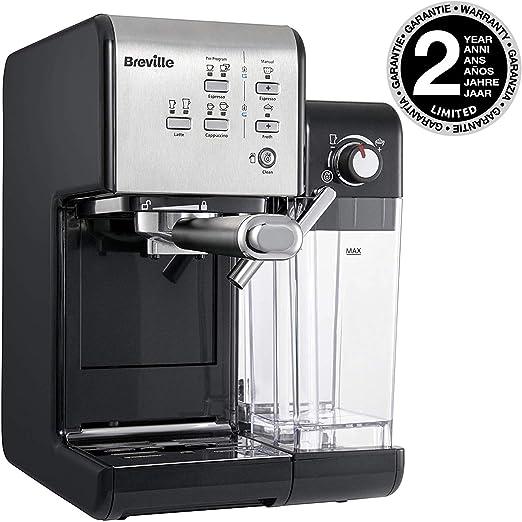 Breville vcf108 X 01 – Cafetera, Plata y Negro: Amazon.es: Hogar