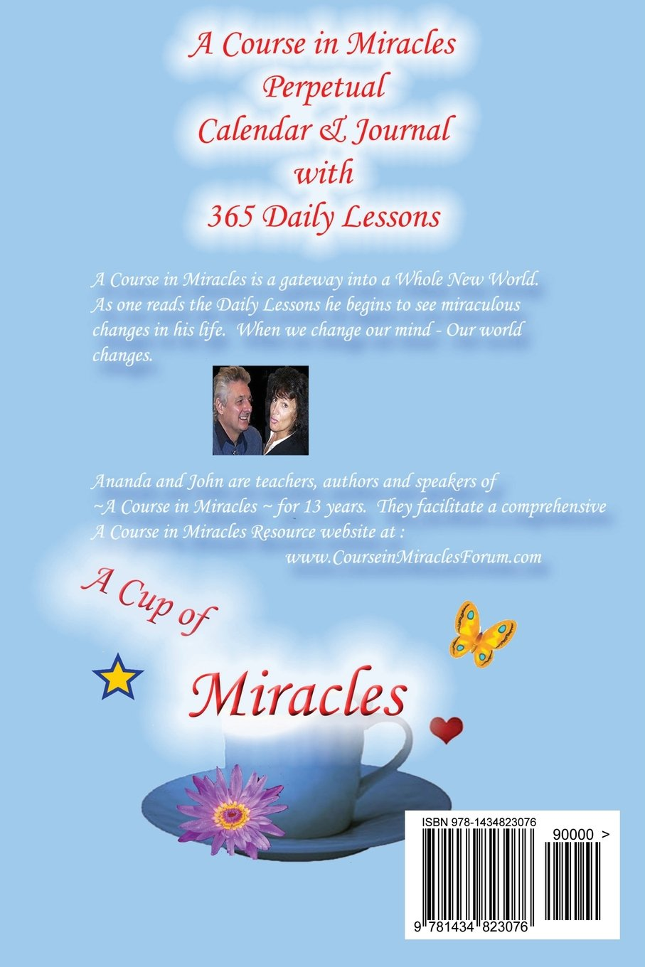 A Course in Miracles: Perpetual Calendar and Notebook: Amazon.co ...