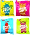 SmartSweets Fruity Gummy Bears, Sour Gummy Bears, Sweet Fish, Sour Buddies, Assortment Pack, Low Carb, Low Sugar, 7.2 oz. Total Keto-Friendly, Stevia Sweetened Fruity