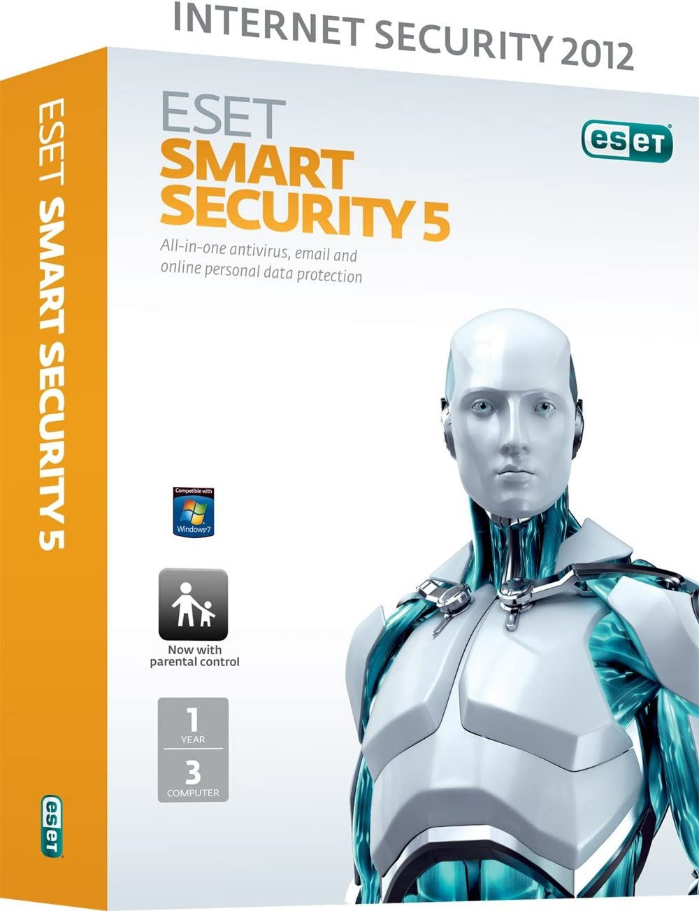 ESET Smart Security V5 3 User 1 Year (PC): Amazon.es: Software
