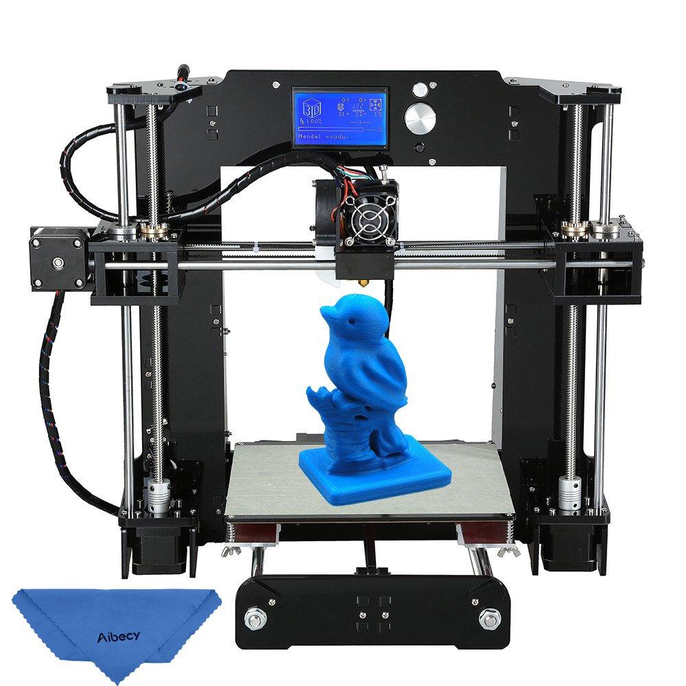 Impresora 3D Anet A6 en KIT 220x220x250mm Reprap i3·16 GB SD· pantalla LCD