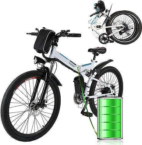 Eloklem Bicicleta eléctrica de montaña Cambio de buje Shimano de ...