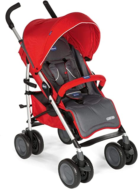 Opinión sobre Chicco MultiWay2 Silla de paseo todoterreno con ruedas grandes y suspensión, color rojo