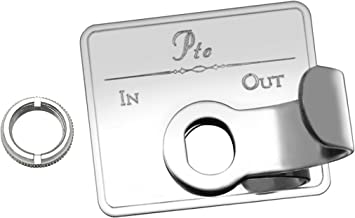 Woodys WP-TKX-C Chrome Guarded Toggle Extention for Kenworth 3 Pack,