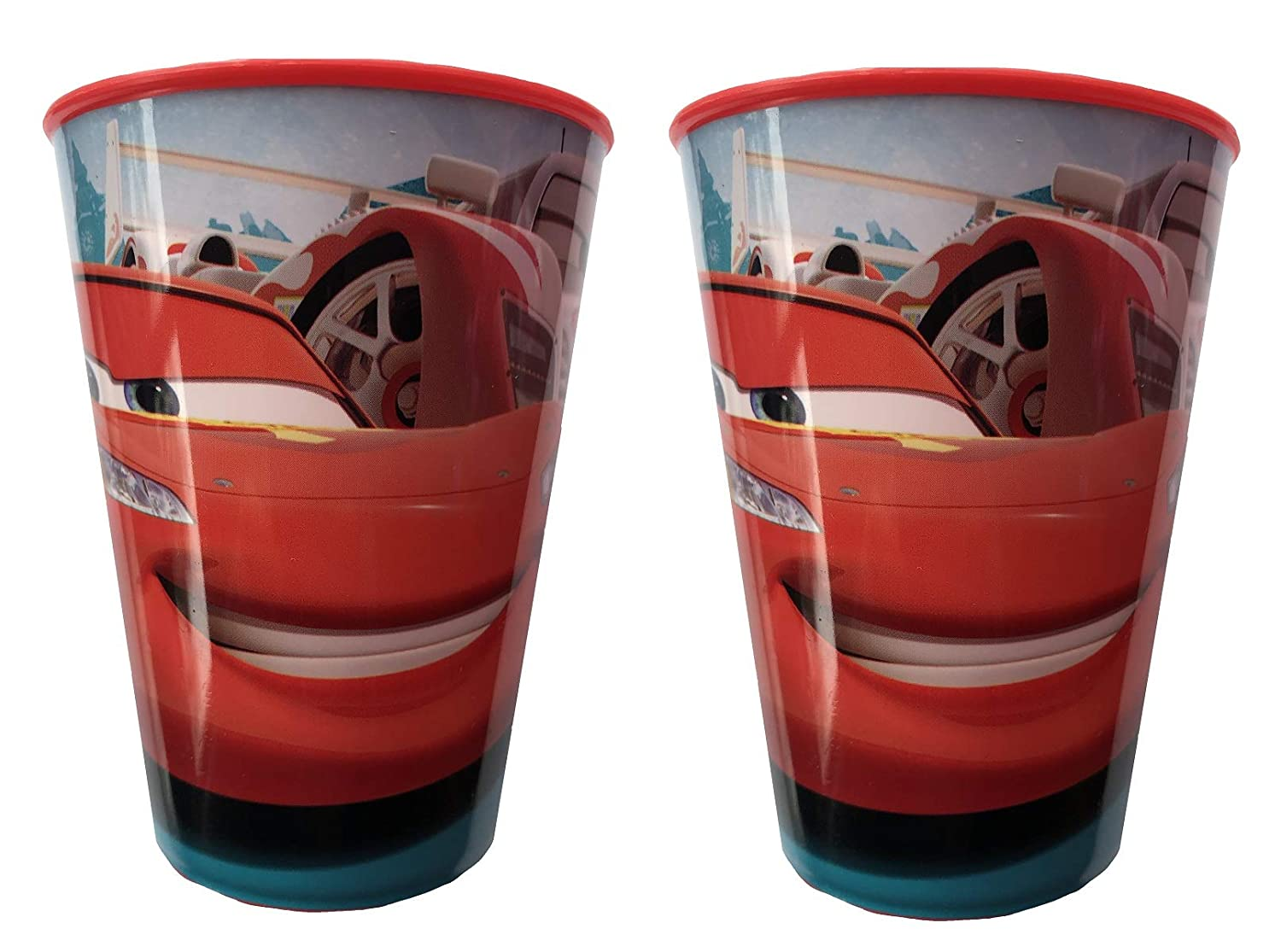 Disney Cars Pack Doble de 260ml Plástico Vasos: Amazon.es: Hogar