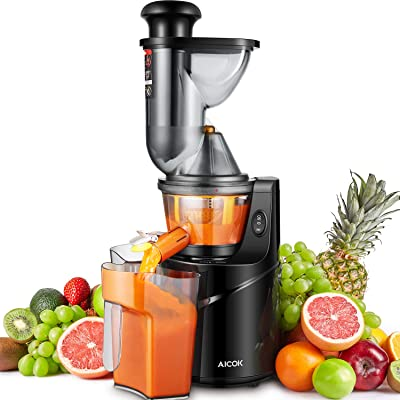 Aicok Upright Masticating Juicer