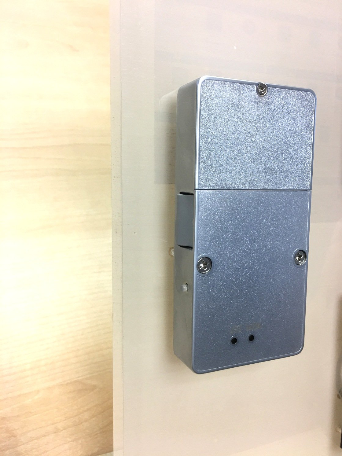 Reinforced RFID Hidden Cabinet Lock-Behind the Panel Concealed Lock with Aluminum Housing and Dead Battery Unlock Feature