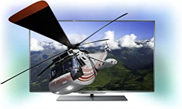 Philips 46PFL8007K - Televisor LED de 46 pulgadas Full HD (800 MHz) color plateado: Amazon.es: Electrónica
