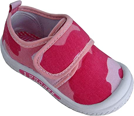 I Frogee Pink Camo Canvas Squeaky Shoes