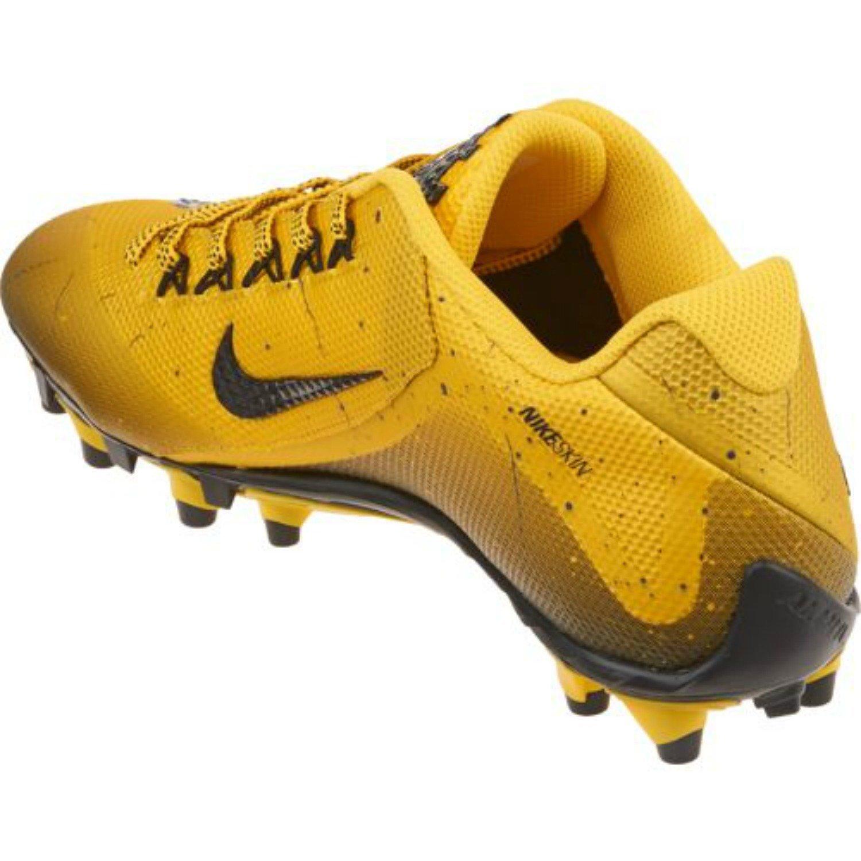 Amazon.com | Nike Alpha Pro 2 Football Cleats Mens Size 7.5 Yellow Black |  Football