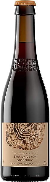 Alhambra Cerveza Barrica Ron Granadino, 330ml: Amazon.es ...
