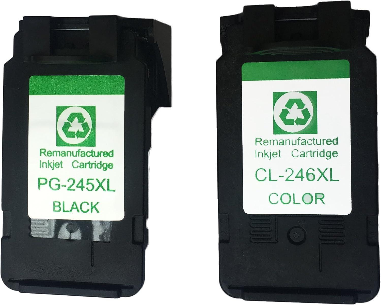 Amazon.com: youuding pg245 X L cl246 X L cartucho de tinta ...