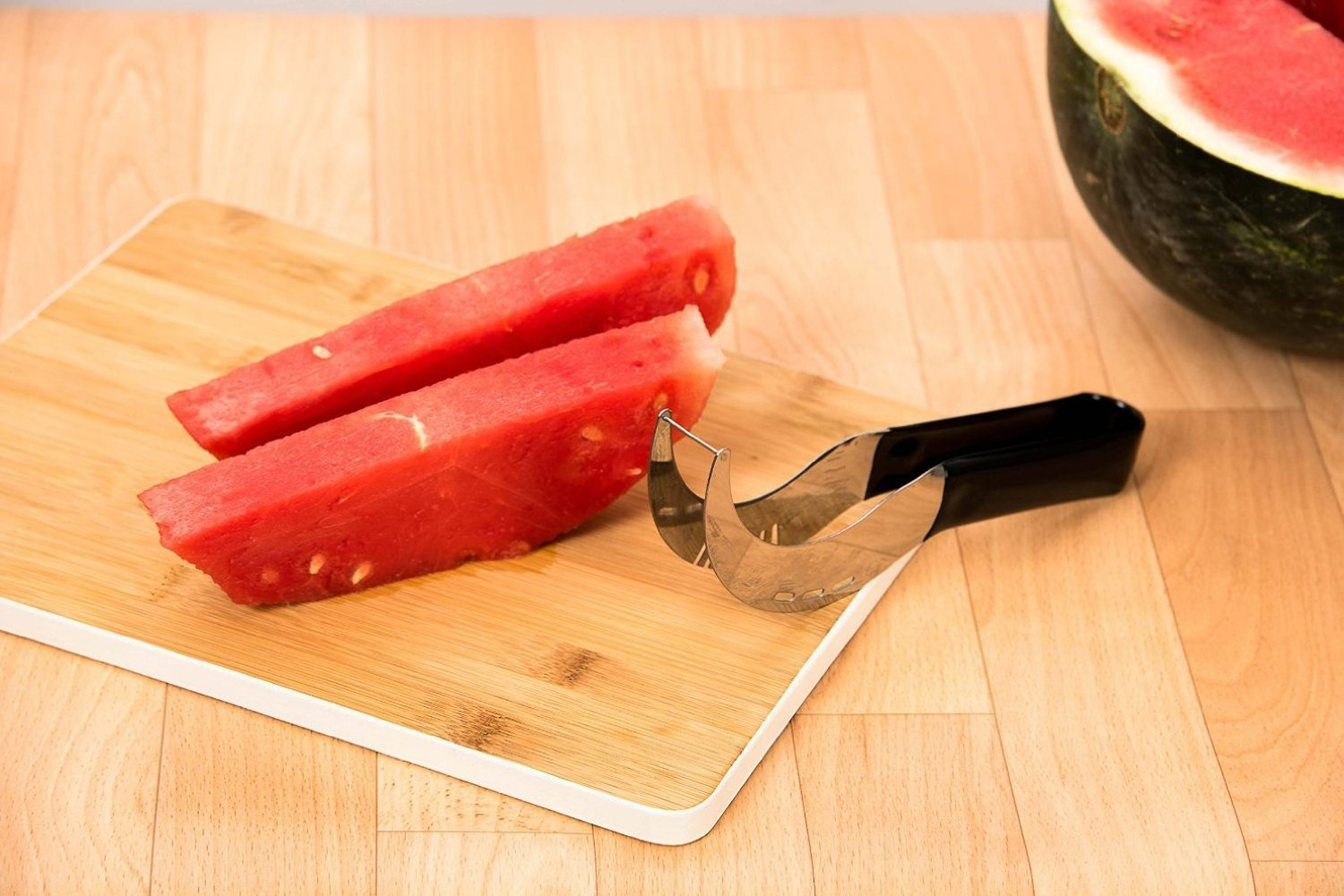 EH-LIFE Watermelon Slicer Corer Cutter Serve Tools with Easy Grip Comfortable Handle, Stainless Steel Home Kitchen Utensil by EH-LIFE (Image #6)