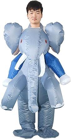 Snuter Disfraz de Elefante Adulto de Halloween para Adultos ...