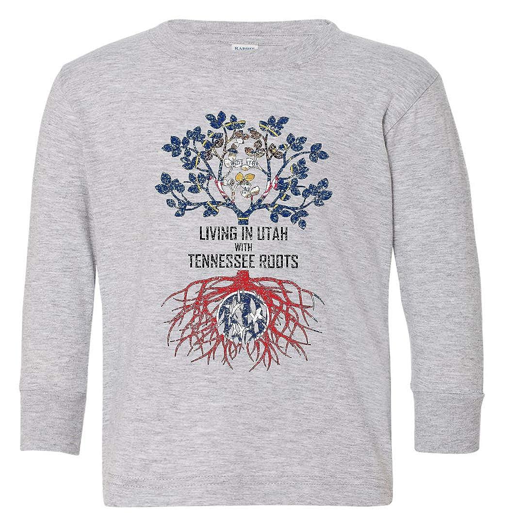 Tenacitee Babys Living in Utah Tennessee Roots Shirt