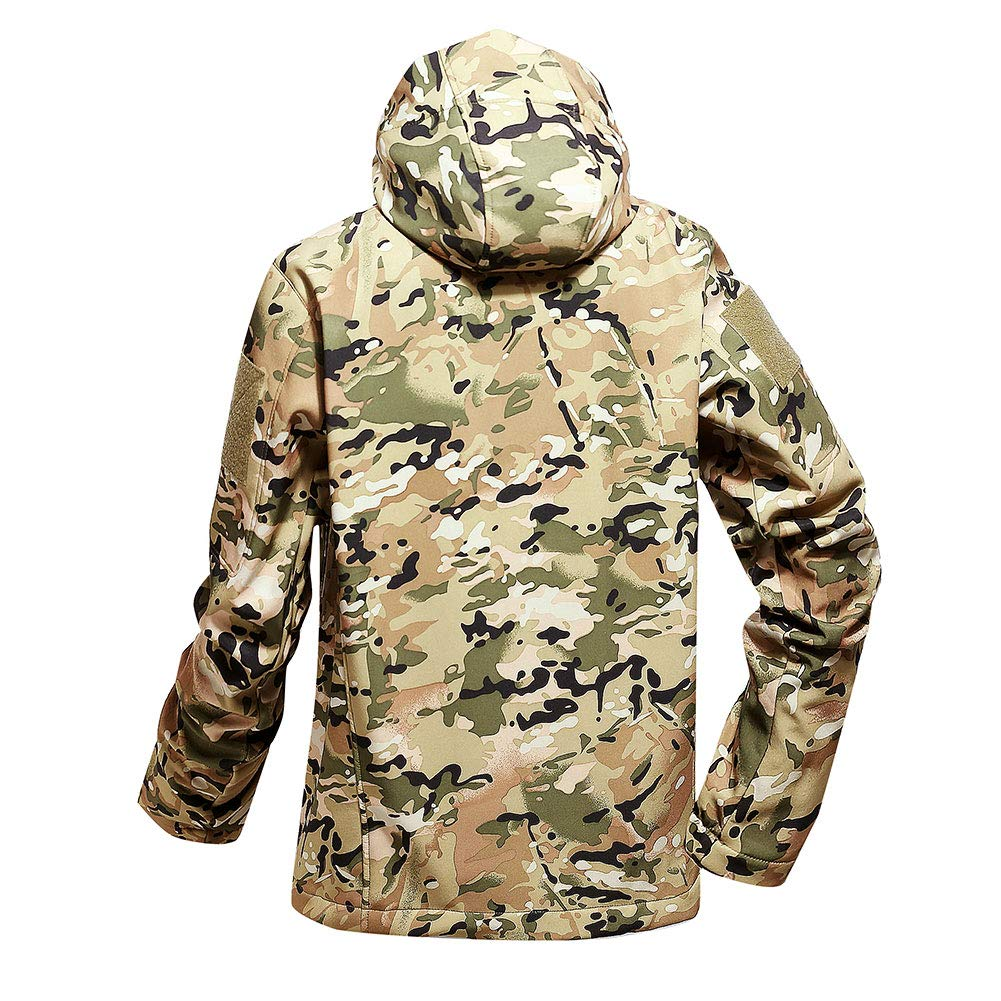 Hunting Coats & Jackets Fashion Style 2018 Outdoor Sport Tactical New Spring Camouflage Jacket Military Men Multi-pockets Windproof Hiking Hooded Coats Camping Jacket Clear And Distinctive