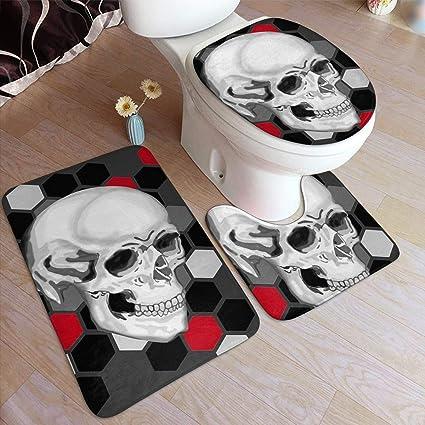 acheter tapis de bain tete de mort online 32