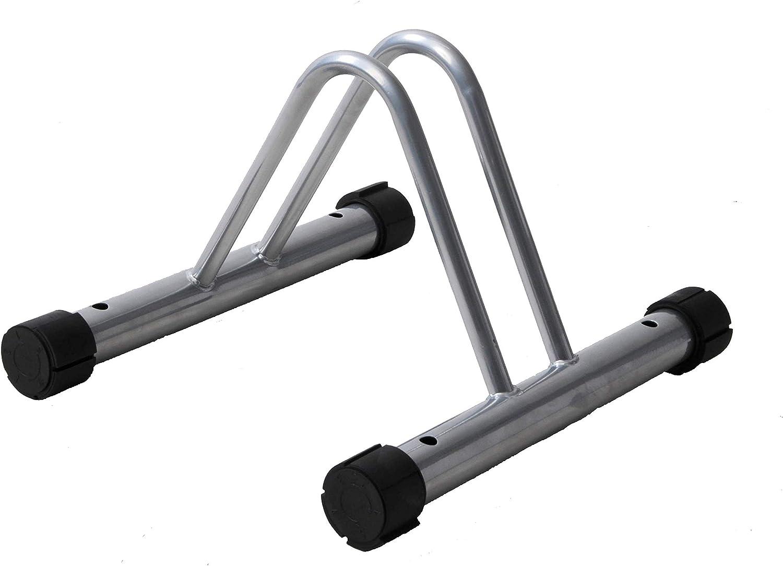 Bike Bicycle Heavy Duty Steel Floor Stand Rack Holder Store Display Wheel Stand