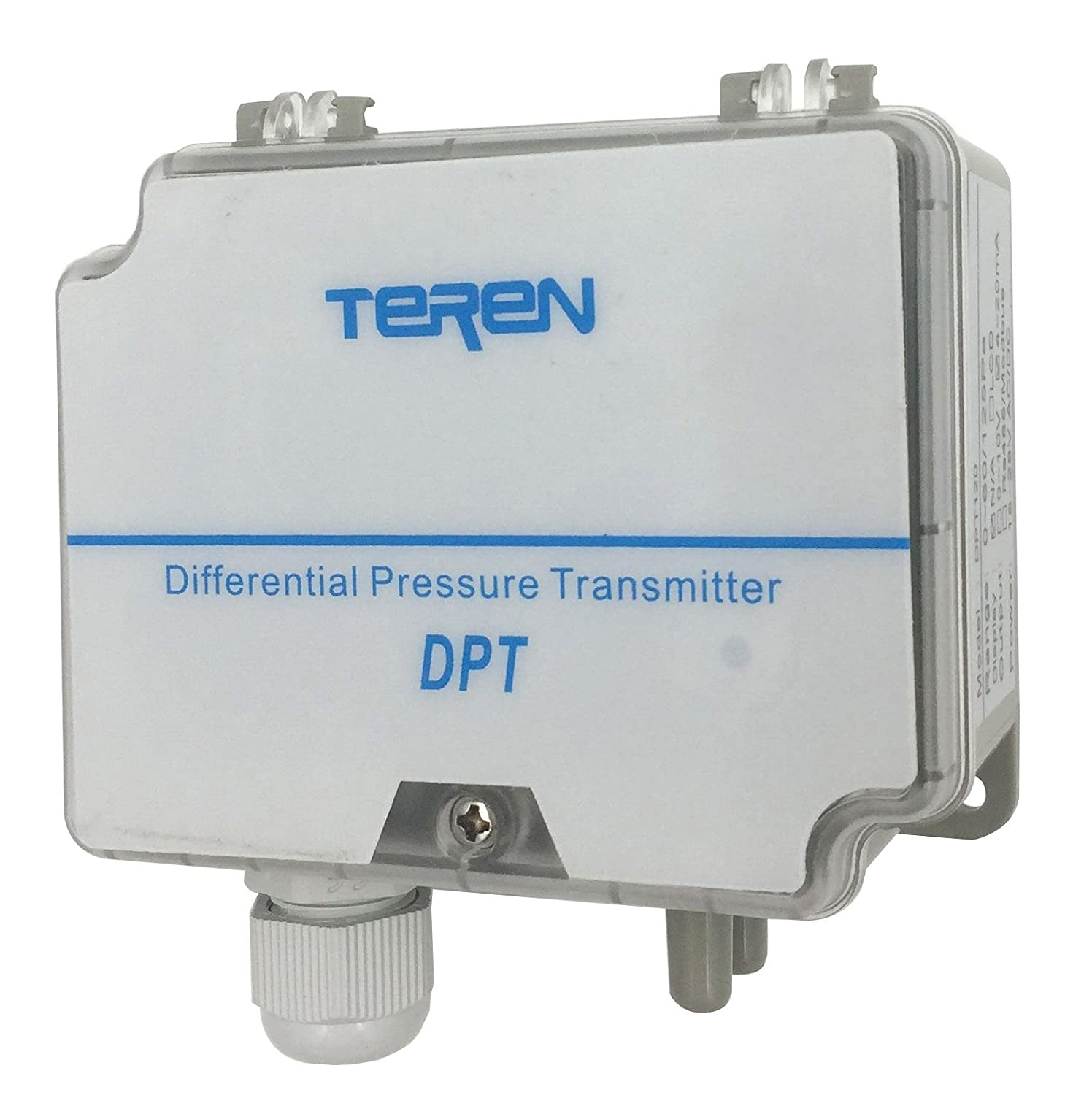 Wall Mount 500 Low Range 1.0 5 Units Selectable 1/% Accuracy 4.0 WC /& 250 4 to 20mA 1000 Pa TEREN Differential Pressure Transmitter DPT320 2.0