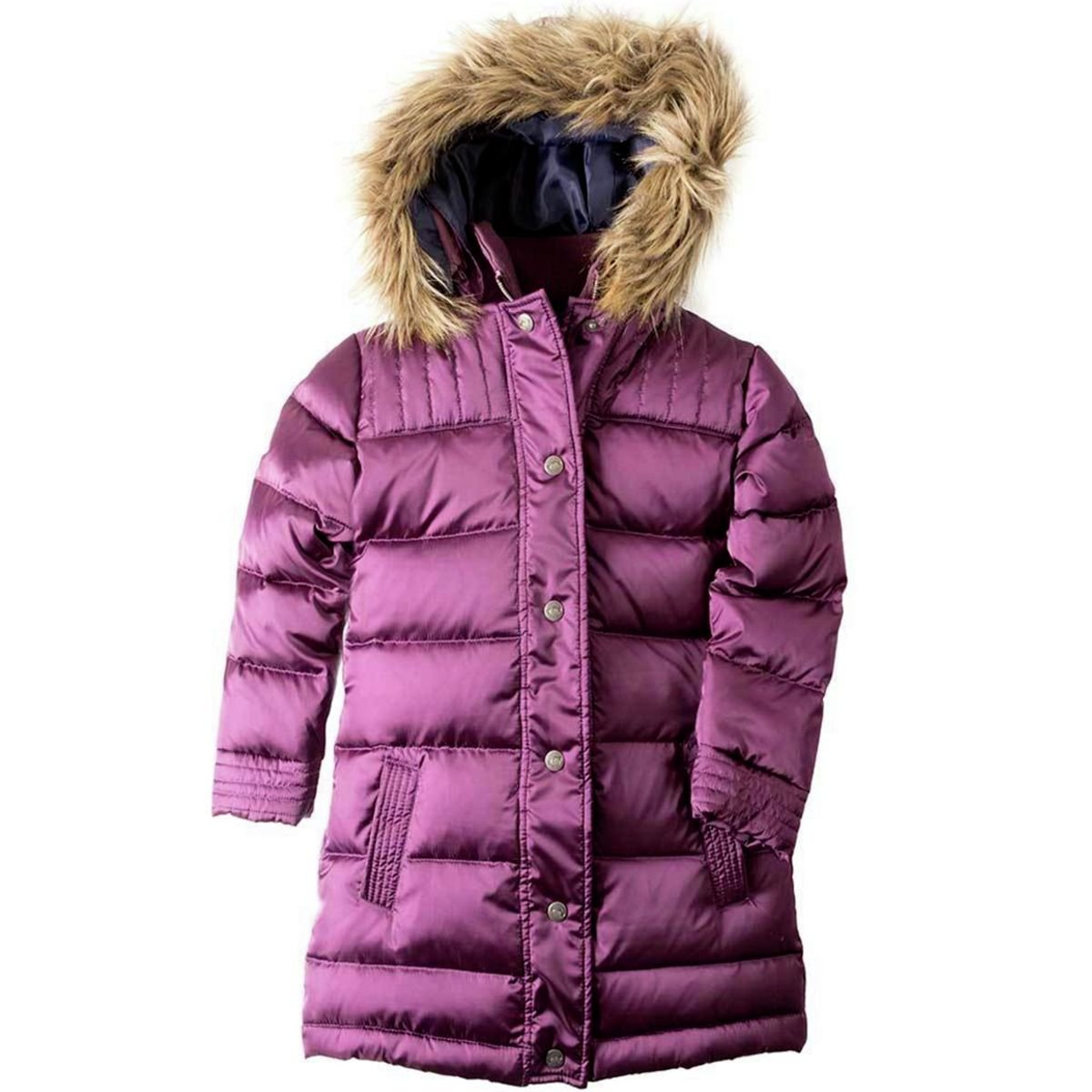 Appaman Kids Baby Girl's Long Down Coat (Toddler/Little Kids/Big Kids) Sugar Plum 8