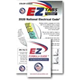 EZ Tabs 2020 : Color Coded EZ Tabs with Formula Guide for 2020 National Electrical Code