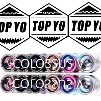 TOP YO Colossus V Yo-Yo - 5th Generation High Performance YoYo - 7-Series Aluminum Alloy! (Dream Marine): Toys & Games
