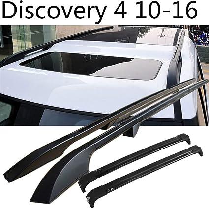 Cruz Kompatibel mit Land Rover Discovery 3 4 Fahrzeugspezifischer Stahl Dachtr/äger