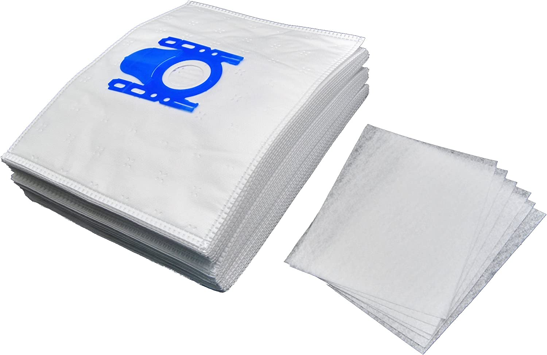 10 Sacchetto Per Aspirapolvere Per SIEMENS vs06b1110 sacchetto per la polvere