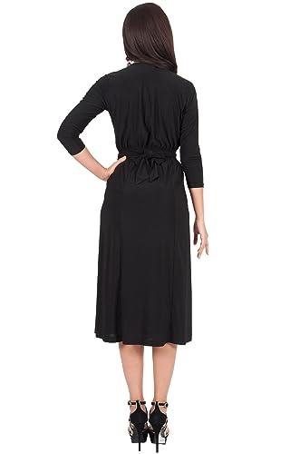 Black dress midi qc