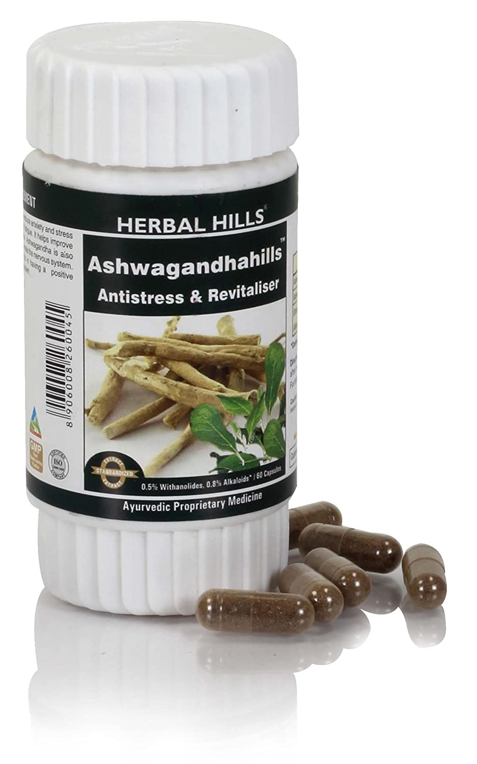 Cheapest amazon herbs - Buy Herbal Hills Ashwagandha 60 Capsules Online At Low Prices In India Amazon In
