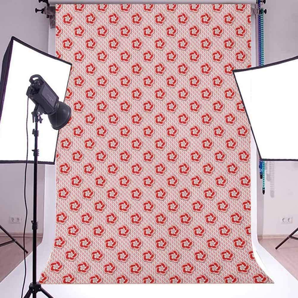 7x10 FT Detroit Vinyl Photography Background Backdrops,Aged Grunge Detroit Michigan Stamp Retro Design with Stars Tourism Travel Background for Selfie Birthday Party Pictures Photo Booth Shoot