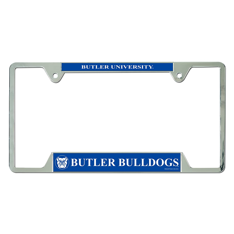 Wincraft NCAA Butler University Metal License Plate Frame 26389011