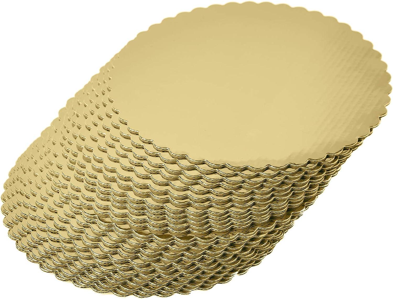 Dor/é 8inch dor/é Lot de 25 planches /à g/âteau rondes 20,3 cm
