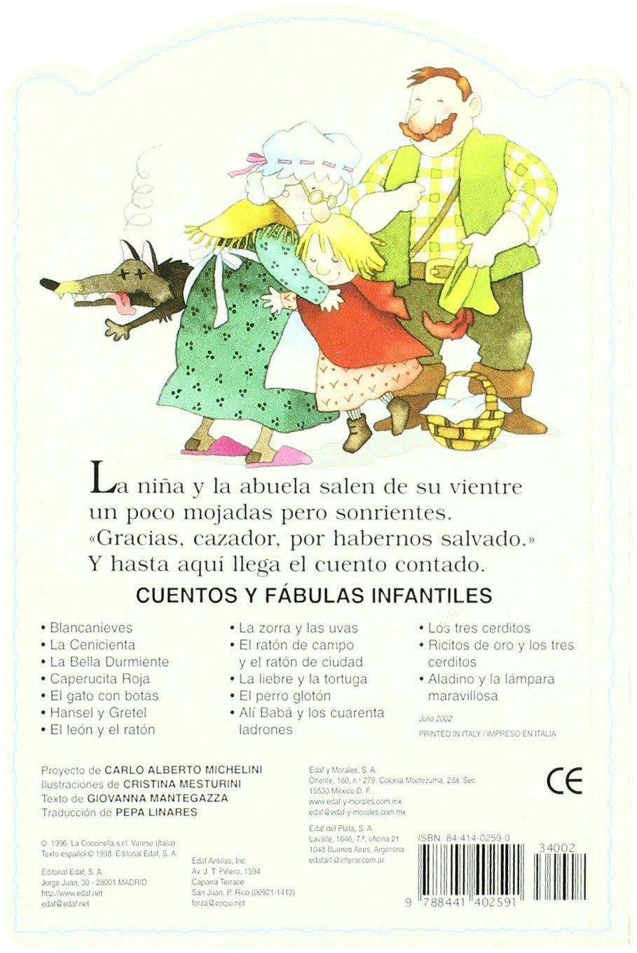 Amazon.com: Caperucita roja (9788441402591): Giovanna Mantegazza, G. Mantegazza, Cristina Mesturini: Books