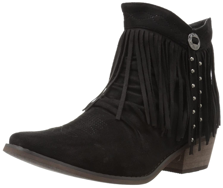 Roper Women's Fringy Western Boot B01M7P10IT 8.5 D US|Black