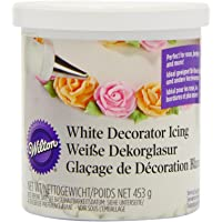 Wilton EU Glaseado para Decorar Blanco 450