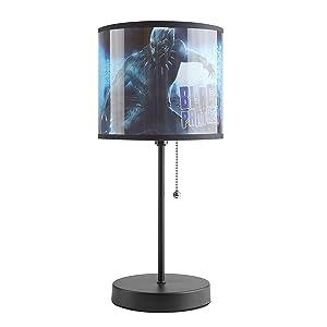 Marvel Panther Stick Lamp, Black