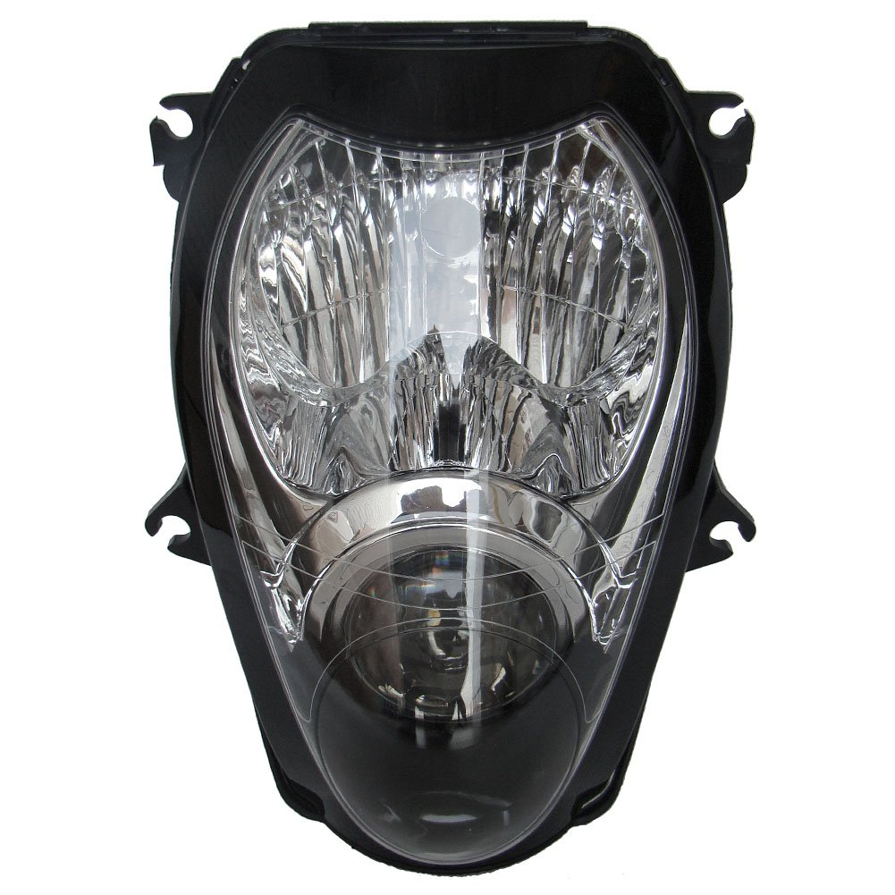 Newsmarts Front Headlight Replacement Headlamp for Suzuki 1999-2007 Hayabusa GSXR1300