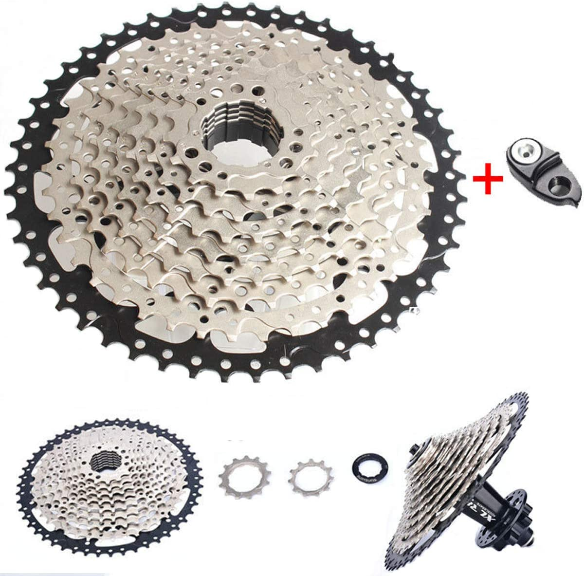 Sunshine 10S 11-36T//42T MTB Bike Cassette Cycling Freewheels 10 Speed Flywheel