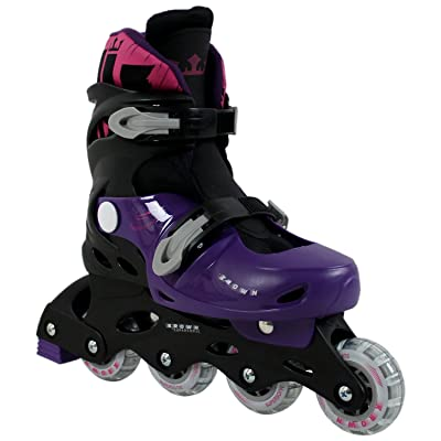 Krown Kids Adjustable Inline Skates Boys and Girls Fits Y13 – 9 Superspeed : Sports & Outdoors