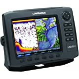 Lowrance HDS-8 GEN2 Plotter/Sounder, with 8.4-inch LCD and Insight USA Cartography. Transducer Not Included.